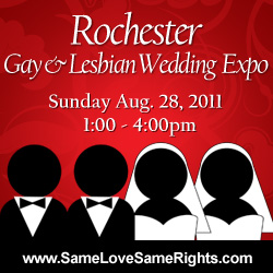 Gay Wedding Expo in Rochester this August!