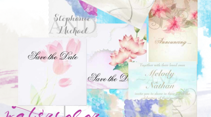 watercolor wedding featured image